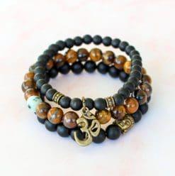 Prosperity 3 Crystal Bracelet Set